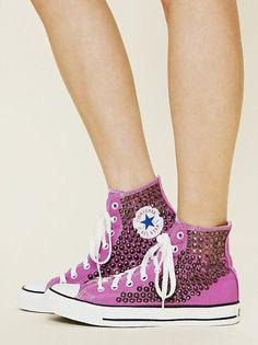 ac3b22103771 Pink studded high top converse Studded Converse