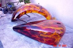 Real Fire, Car Painting, Paint Schemes, Custom Paint, Hot Wheels, Cool Stuff, Hot Rods, Outdoor Decor, Image