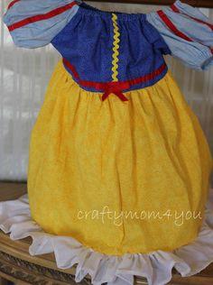 Snow White  Dress  Disney Princess dress up by BestDressEver, $39.00