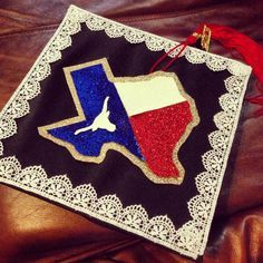 cap decorations texas - but with the mean green texas logo... and absolutely NO longhorn