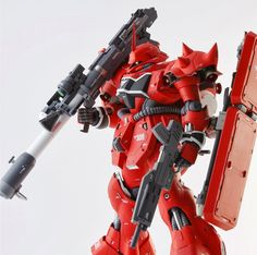 GUNDAM GUY: MG 1/100 AMS-119 Geara Doga - Customized Build Modeled by takechako