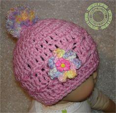 Crochet Beanie Crochet Baby Hat Baby Hat by SweetnessInSmyrna