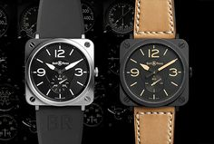 Bell & Ross new BRS Steel & Heritage time pieces - mikeshouts