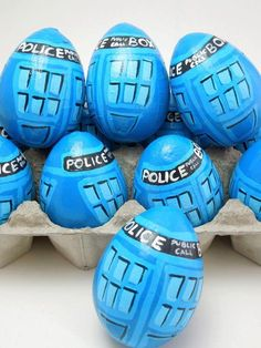Easter Eggs / Doctor Who