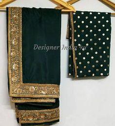 Emerald Green Saree Blouse Indian ethnic designer uppada silk exclusive made to order new sari for women girls party wear bridesmaid dress Maroon Saree, Girls Party Wear, Indian Blouse, Green Saree, Lace Border, Indian Ethnic, Peach Colors, Saree Blouse, Emerald Green