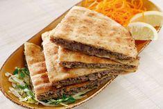 Receitas de comida árabe.