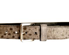 #belt made of fish #leather (wolffish) / Design by Atson