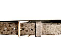 made of fish (wolffish) / Design by Atson Belt, Fish, Leather, Accessories, Design, Fashion, Moda, Waist Belts, Fashion Styles