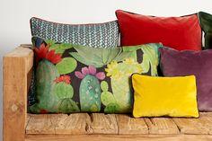 Topawa, Tristan and Eight fabrics from James Malone fabrics @latorredecora  http://latorredecoracion.com/productos/