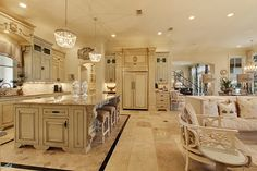 modern french country decor are readily available on our internet site. look at this and you wont be sorry you did. French Country Kitchens, Modern Farmhouse Kitchens, French Country House, Farmhouse Kitchen Decor, French Cottage, Country Living, French Decor, French Country Decorating, Best Kitchen Design