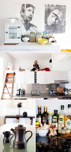 sometimes i do want a loft above a kitchen. if we do end up building... #sfgirlbybay #kitchens