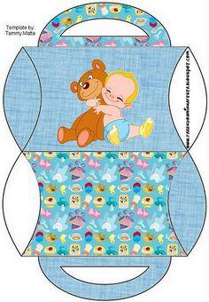 Cajita almohada bebé
