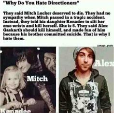 IM TELLING THIS TO EVERY ONE DIRECTION FAN I KNOW. I HATE ONE DIRECTION WITH EVERYTHING IN ME.