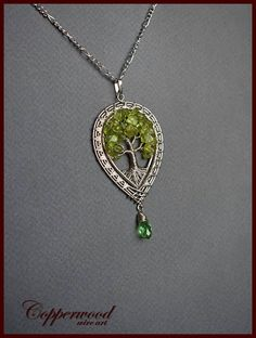 Tree of life necklace /Celtic pendant / Wire wrap jewelry / #necklacetutorials
