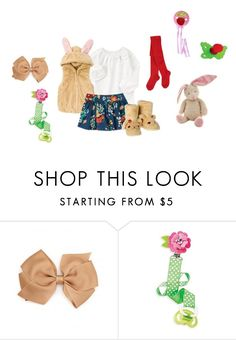 """""""Sin título #3105"""" by alejaborrayo ❤ liked on Polyvore featuring Baby, girl, Six and months"""