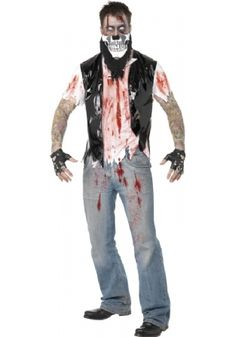 """Zombie Biker """"He fell off a cliff of some kind"""""""