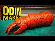 (33) Odin Makes: Hellboy's Right Hand of Doom - YouTube