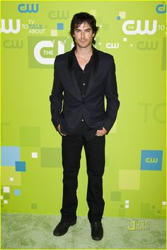 Ian Somerhadler pictured @ the CW Up-Front Event Vampire Diaries Cast attends the CW Up-Front Event