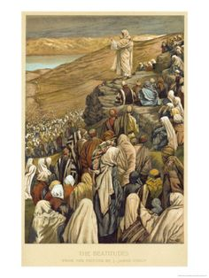 """Sermon on the Mount.    BIBLE SCRIPTURE: Matthew 5:1, """"And seeing the multitudes, he went up into a mountain: and when he was set, his disciples came unto him:"""" - http://access-jesus.com/Matthew/Matthew_5.html"""