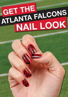 Let's go Falcons! Click to find your favorite team's FANICURE!