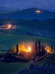Pienza, Tuscany, Italy   by Daniel Kordan