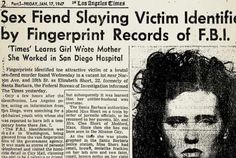 Elizabeth Short aka Black Dahlia was murdered in January Her murder remains unsolved and is one of the the most famous cold cases in the US. Motels In Los Angeles, The Black Dahlia Murder, Mafia Crime, Cold Case, Famous Last Words, The Victim, True Crime, Father, Newspaper Article