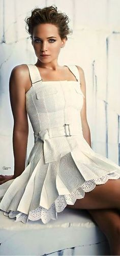 Jennifer Lawrence...great picture, great dress!