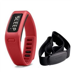 Garmin vivofit™ Red Bundle features History Storage that can easily store More Than 1 Month Of 24/7 Activity Data.
