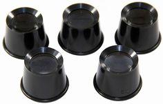 5 pcs Eye Loupe Set (Includes 2X, 3X, 5X, 7X, 10X Magnifications)