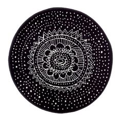 Unique Design / Luxury Look 100% Polypropylene Machine Tufted Low Pile Rug With Synthetic latex Backing - Round (80cm Dia) - Black CLT http://www.amazon.co.uk/dp/B00CLHL91E/ref=cm_sw_r_pi_dp_Fy.kwb1NSY1MX