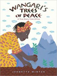 """From the author of """"The Librarian of Basra"""" comes a picture book based on the true story of Wangari Maathai, an environmental and political activist in Kenya and winner of the Nobel Peace Prize in 2004 who sets out to replenish her country's forests. African Culture, African Art, Nobel Peace Prize, Nobel Prize, Women In History, Black History, Biographies, Book Lists, Kenya"""