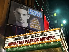 """Create a Broadway Theater Personalized Image. Perfect for that """"drama"""" person in your life. Include an image and it will look like their name in lights on Broadway.  From Fiverr for only $5."""