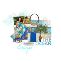 """Tropical Escape"" by tammyletterman on Polyvore"