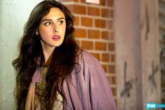 Claudia Martinez Reardon channels a Stevie Nicks vibe in a lavender cape.