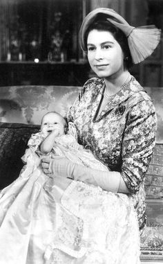 Princess Anne from Royal Christenings Through the Years