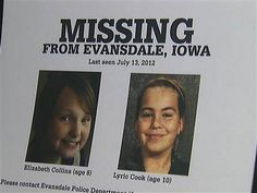 Families of missing Iowa girls fear they were kidnapped - U.S. News