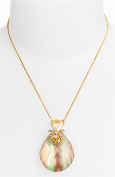 Alexis Bittar 'O'Keeffe' Pendant Necklace