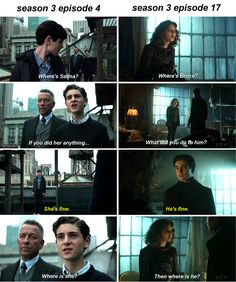 This shows how much they truly care about each other Gotham is full of parellelisms #bruce #selina #gotham