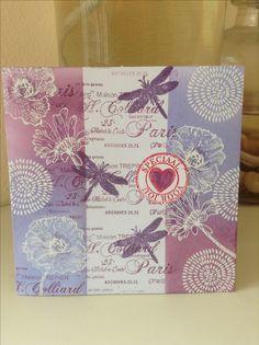 Speciaal voor jou gemaakt met stempels van different colors en libelle van stampers amonymous gemaakt door pboonzaaijer