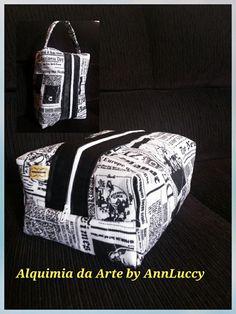 Necessaire Box Masculina #alquimiadaartebyannluccy  #diadospais