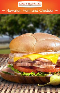 Lunch time never sounded so sweet. Try this tangy Ham and Cheese sandwich recipe!