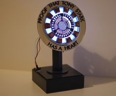 "i have always loved iron man and when the first film came out i saw some ""collectible props of the arc reactor"" floating around on the web. they were great and i wanted to see if i could make one. i had access to a laser cutter so i gave it a try. this is how i made mine. its maybe not screen perfect or cannon but i like it and it was fun to make. the second image is the main one i used to make my prop. its from  http://marvel-movies.wikia.com/wiki/File:Mk_1_Arc_Reactor.jpg"