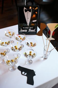 James Band, James Bond Party, Table Decorations, Group, Instagram, Dinner Table Decorations