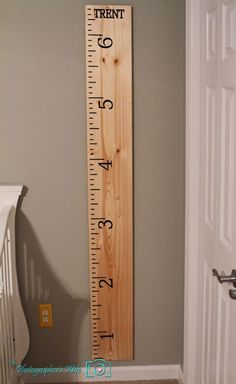 DIY Grown Chart Ruler