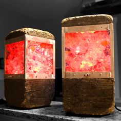 Concrete & Upcycled Glass Lamps  - Album on Imgur