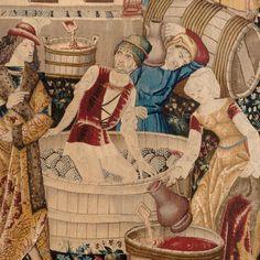 Art Du Vin, Pieter Bruegel The Elder, Wine Art, Bacchus, Succession, 14th Century, Illuminated Manuscript, North Africa, African Art