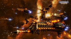 Battlefleet Gothic: Armada is the RTS adaptation for PC of Games Workshop's tabletop game, staging the deadly space battles of Warhammer Warhammer 40k, Warhammer Fantasy, Battlefleet Gothic Armada, Battle Fleet, Riot Points, Tau Empire, High Resolution Wallpapers, Game Workshop, Lost Soul