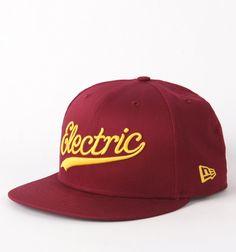 Electric Script Snapback Hat