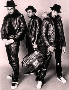 Run DMC – Trendsetters in every way possible.