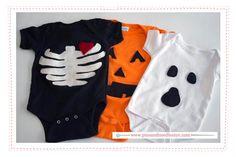 Halloween Costume Onesie DIY